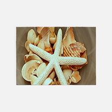 Summer Starfish 5'x7'Area Rug