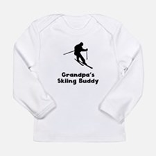 Grandpas Skiing Buddy Long Sleeve T-Shirt
