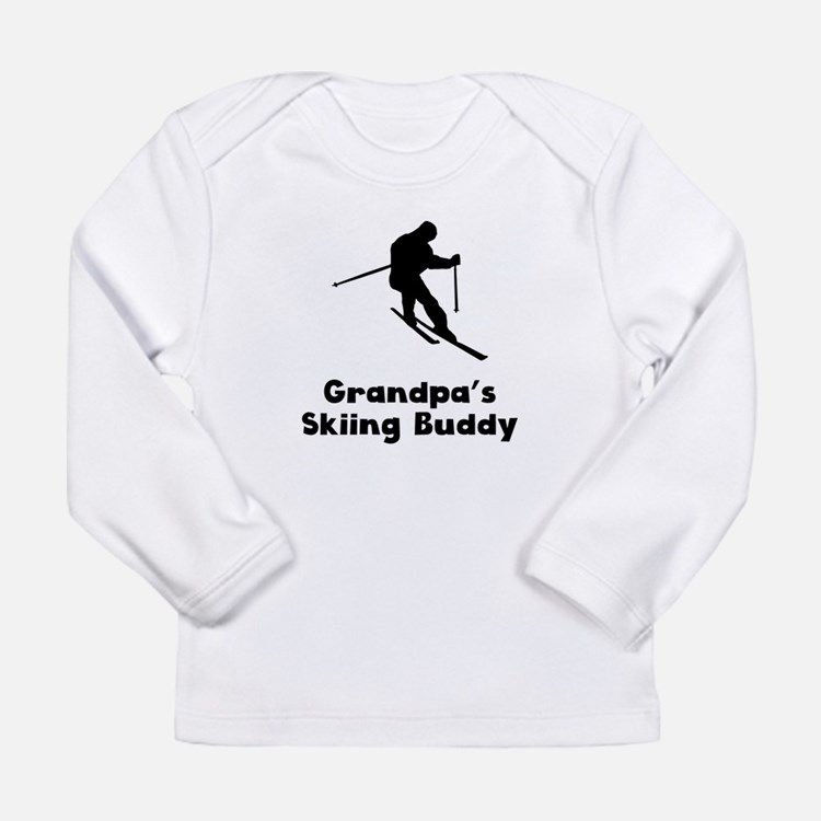 Grandpas Skiing Buddy Long Sleeve T-Shirt
