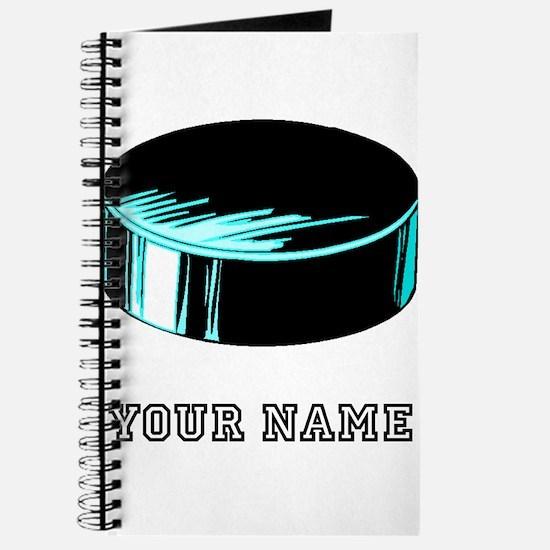 Hockey Puck (Custom) Journal