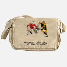 Ice Hockey (Custom) Messenger Bag