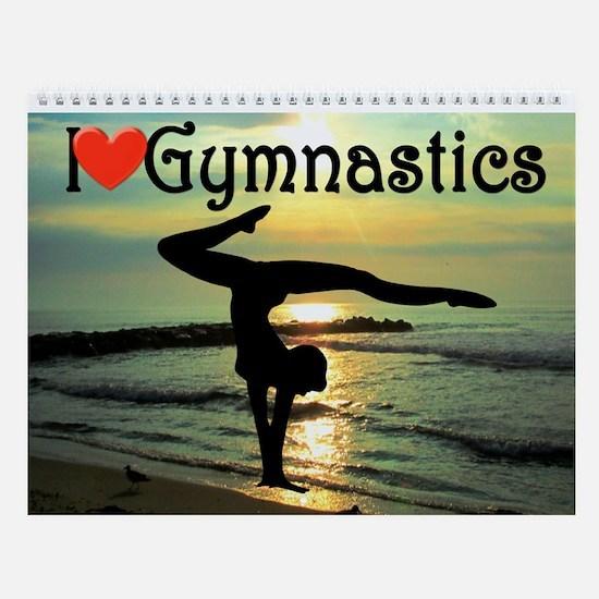 Gymnast Champion Wall Calendar