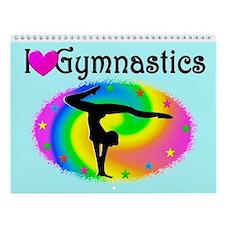 Gymnast Love Wall Calendar