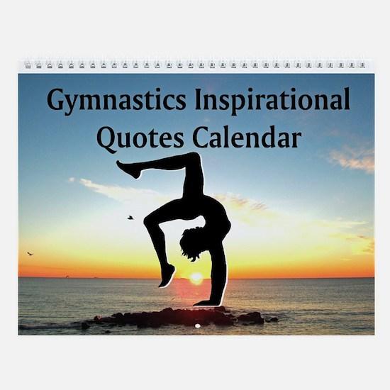 Beautiful Gymnast Wall Calendar