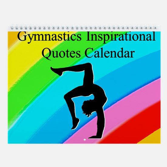 Inspired Gymnast Wall Calendar