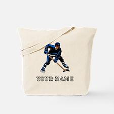 Hockey Player (Custom) Tote Bag