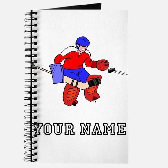 Hockey Goalie (Custom) Journal
