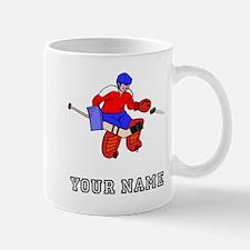 Hockey Goalie (Custom) Mugs