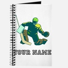 Hockey Goalie (Custom) Journal
