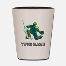 Hockey Goalie (Custom) Shot Glass