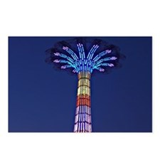 CONEY ISLAND'S WORLD FAMO Postcards (Package of 8)