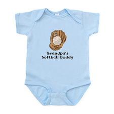 Grandpas Softball Buddy Body Suit
