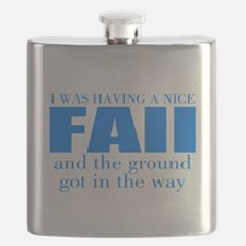 Funny accident Flask