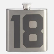 18 18th Birthday 18 Years Old Flask