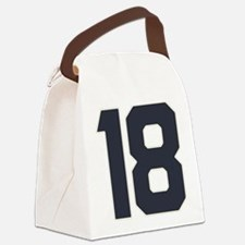 18 18th Birthday 18 Years Old Canvas Lunch Bag