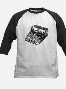 Vintage Typewriter Baseball Jersey
