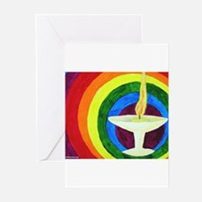 Unique Uu chalice Greeting Cards (Pk of 20)