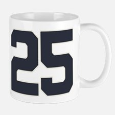 25 25th Birthday 25 Years Old Mug