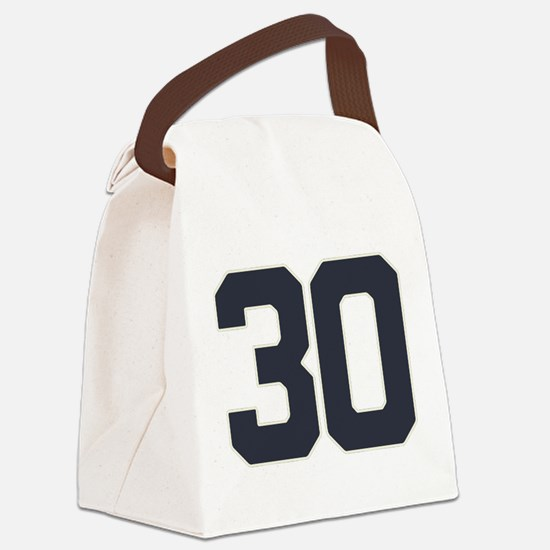 30 30th Birthday 30 Years Old Canvas Lunch Bag