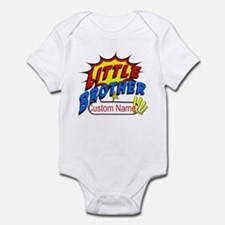 Little Brother Superhero Infant Bodysuit