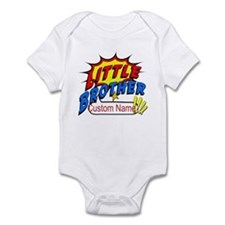 Little Brother Superhero Onesie