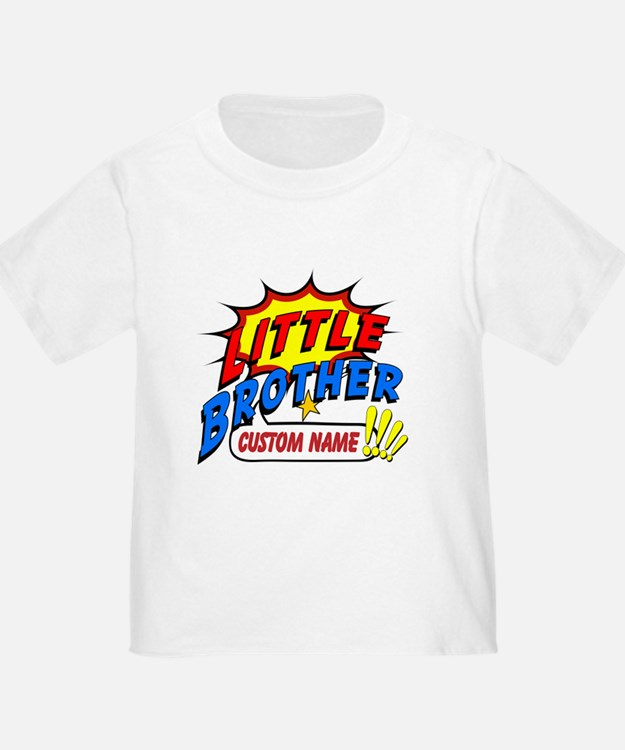 Little Brother Superhero T