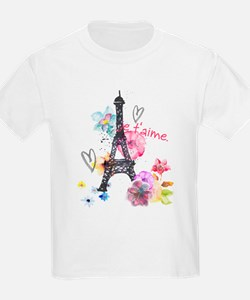 Cute Eifel tower T-Shirt