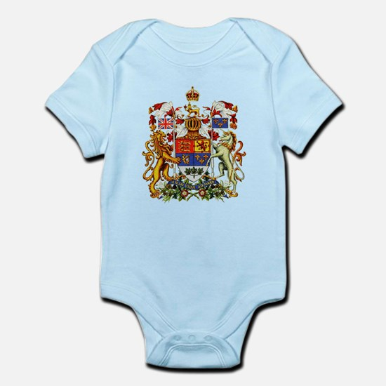 Canadian Royal Coat of Arms Infant Bodysuit