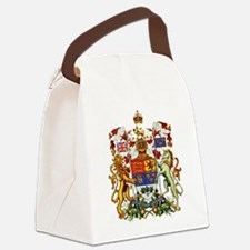 Canadian Royal Coat of Arms Canvas Lunch Bag
