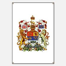 Canadian Royal Coat of Arms Banner