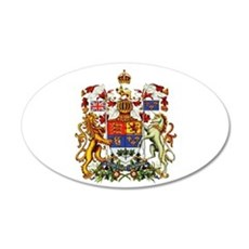 Canadian Royal Coat of Arms Decal Wall Sticker
