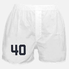 40 40th Birthday 40 Years Old Boxer Shorts