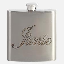 Gold Junie Flask