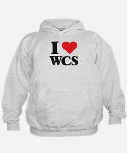 I Love West Coast Swing Hoodie