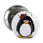 Feeling Ill Penguin Button