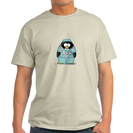 Surgeon Penguin Light T-Shirt