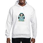 Surgeon Penguin Hooded Sweatshirt