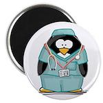 Surgeon Penguin Magnet