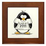 Class of 2011 Penguin Framed Tile