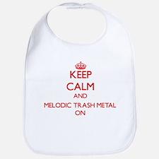 Keep Calm and Melodic Trash Metal ON Bib