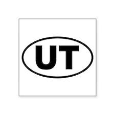"Funny Utah Square Sticker 3"" x 3"""