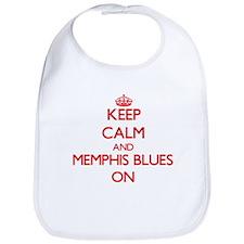 Keep Calm and Memphis Blues ON Bib