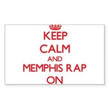 Keep Calm and Memphis Rap ON Decal