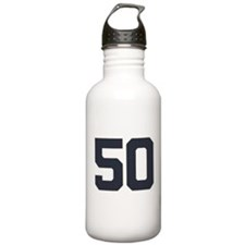 50 50th Birthday 50 Ye Water Bottle