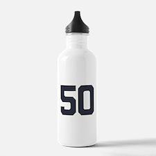 50 50th Birthday 50 Ye Water Bottle