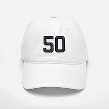 50 50th Birthday 50 Years Old Baseball Baseball Cap