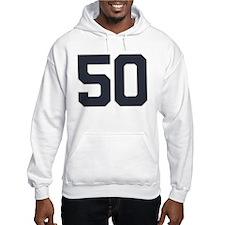 50 50th Birthday 50 Years Old Hoodie