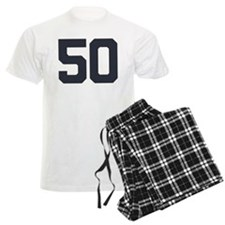 50 50th Birthday 50 Years Old Pajamas