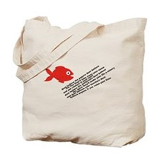 The Fish Of Lies Tote Bag