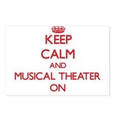 Keep Calm and Musical The Postcards (Package of 8)